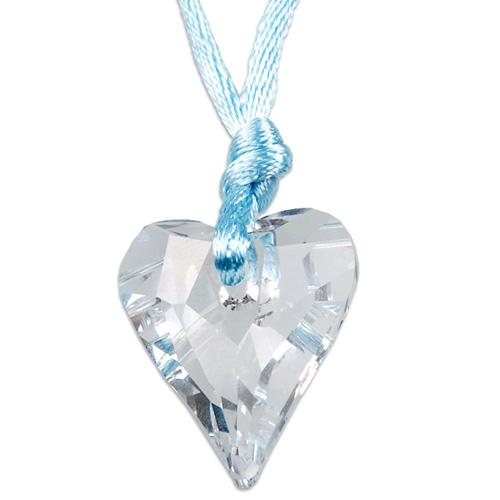 Přívěsek s krystaly Swarovski Wild Heart Crystal Blue