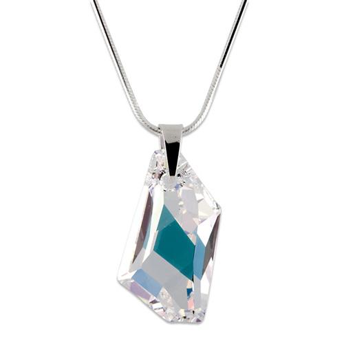 Stříbrný náhrdelník s krystaly Swarovski Art Crystal