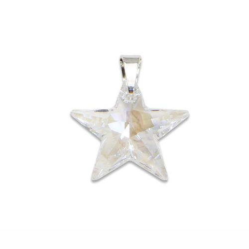 Stříbrný přívěsek s krystalem Swarovski Star Crystal