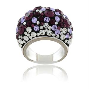 Swarovski prsten melancholy