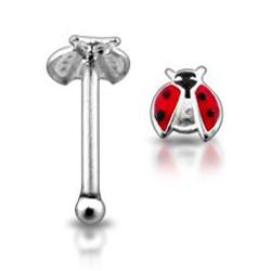 Stříbrný piercing do nosu N01034