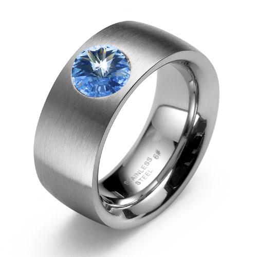 Prsten s krystaly Swarovski Oliver Weber Phrase 0814-211