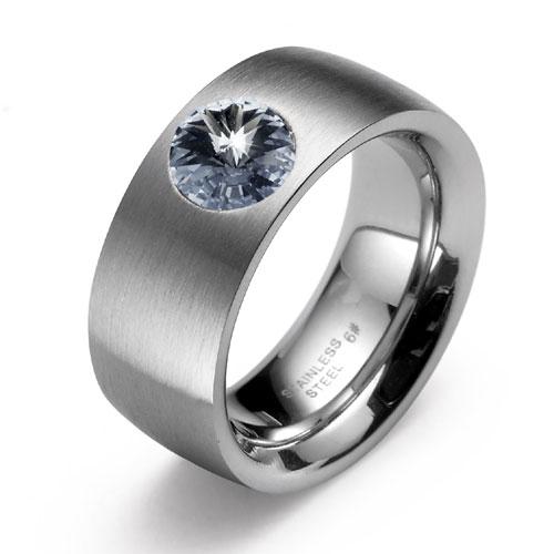 Prsten s krystaly Swarovski Oliver Weber Phrase 68013M-215