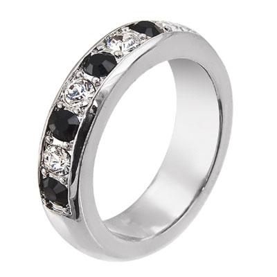Prsten s krystaly Swarovski Oliver Weber Soul 2414-280