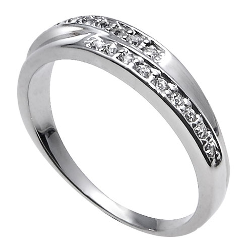 Prsten s krystaly Swarovski Oliver Weber Real 41036R