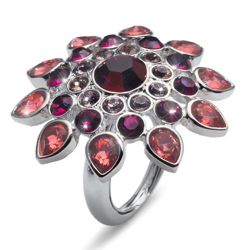 Prsten s krystaly Swarovski Oliver Weber Estate 2471