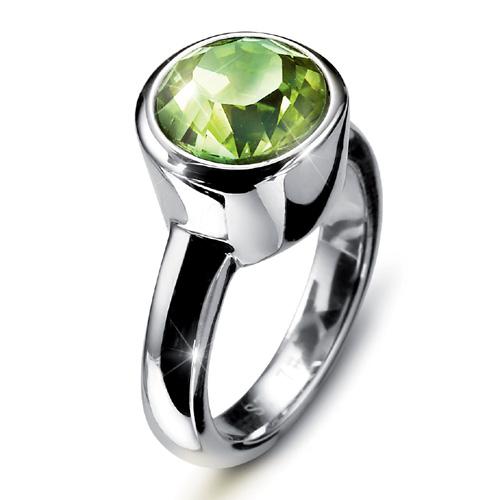Prsten s krystaly Swarovski Oliver Weber Point 2472-214