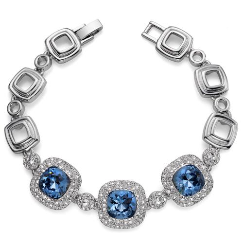 Náramek s krystaly Swarovski Oliver Weber Autentic 32098-266