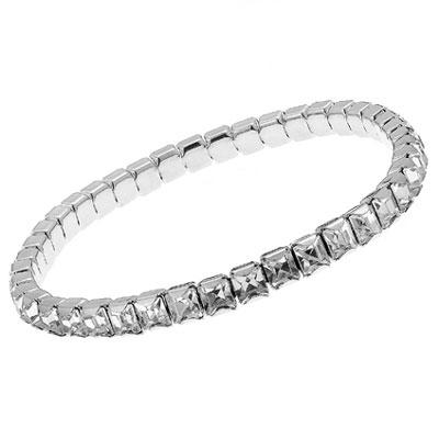 Náramek s krystaly Swarovski Oliver Weber Wish 31002-001