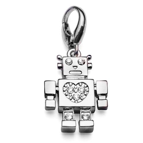 Přívěsek s krystaly Swarovski Oliver Weber Robot 6728