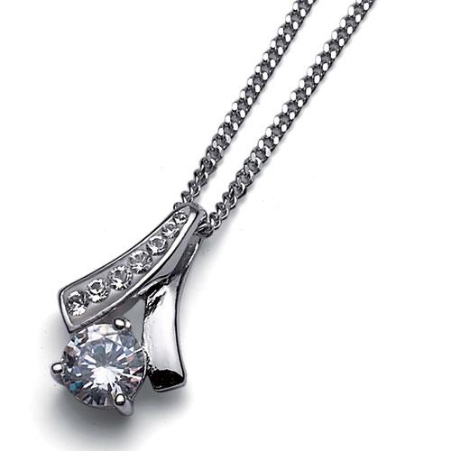 Stříbrný přívěsek s krystaly Swarovski Oliver Weber Nice 61068-001