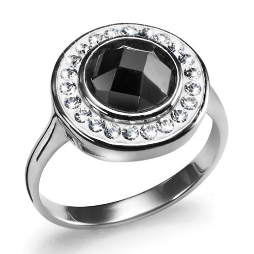 Prsten s krystaly Swarovski Oliver Weber Base