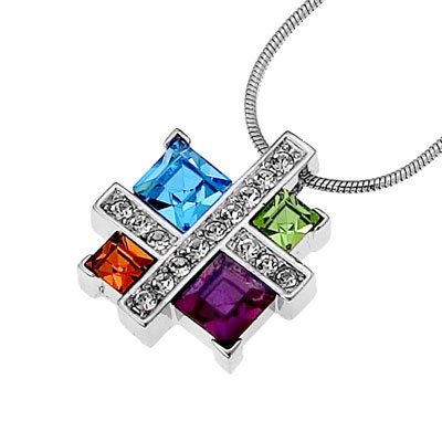 Přívěsek s krystaly Swarovski Oliver Weber Couture 11032