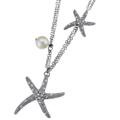 Náhrdelník s krystaly Swarovski Oliver Weber Starfish 11074R