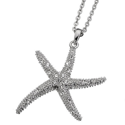 Přívěsek s krystaly Swarovski Oliver Weber Starfish XL 11138