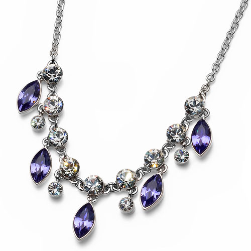 Náhrdelník s krystaly Swarovski Oliver Weber Sort 11173