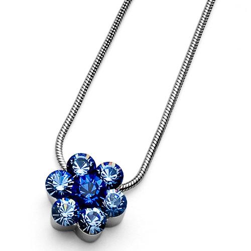 Přívěsek s krystaly Swarovski Oliver Weber Flower 11197-211