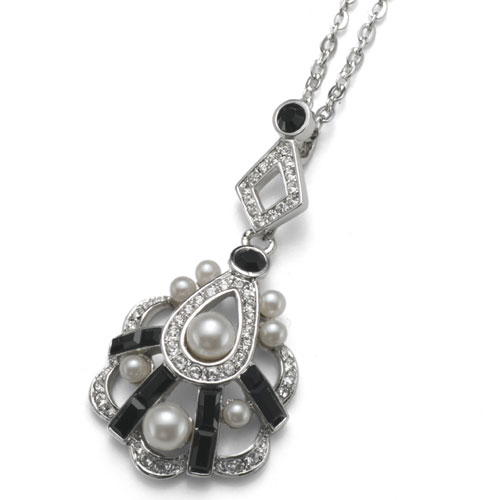 Přívěsek s krystaly Swarovski Oliver Weber Deco 9243-280