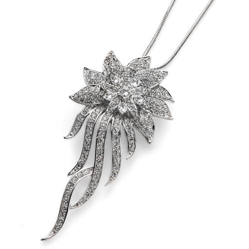Přívěsek s krystaly Swarovski Oliver Weber Flowery 9281
