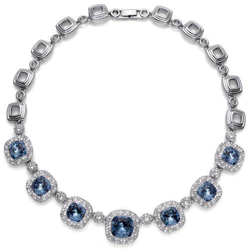 Náhrdelník s krystaly Swarovski Oliver Weber Autentic 11340-266