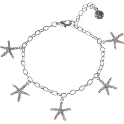 Náramek s krystaly Swarovski Oliver Weber Starfish 32033