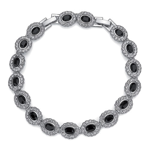 Náramek s krystaly Swarovski Oliver Weber Baroness 9596-280