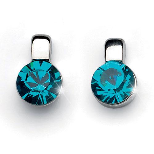 Náušnice s krystaly Swarovski Oliver Weber Beat 22142