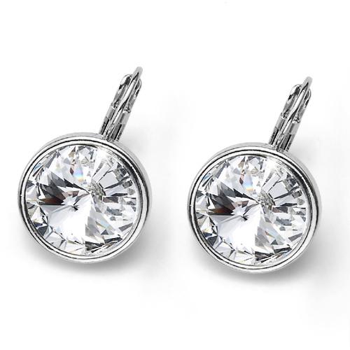 Náušnice s krystaly Swarovski Oliver Weber Fun Crystal