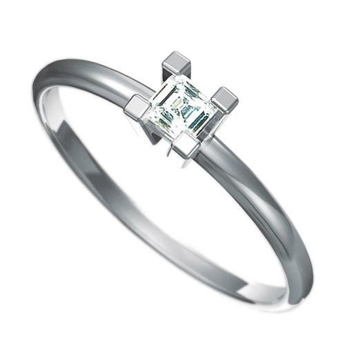 Zásnubní prsten s briliantem Dianka 801