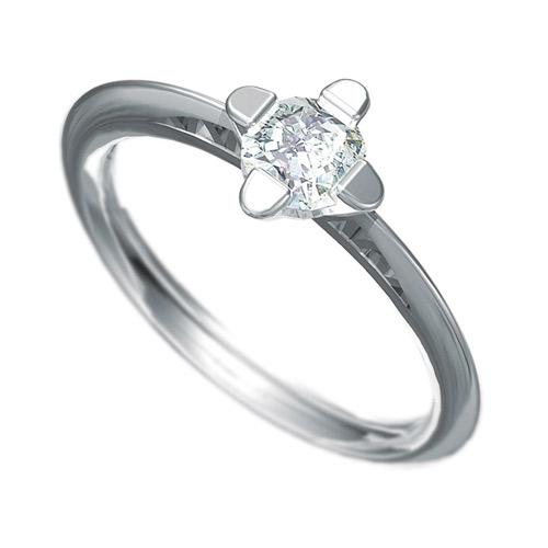 Zásnubní prsten s briliantem Dianka 802