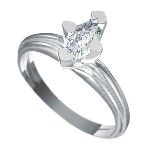 Zásnubní prsten s briliantem Dianka 818