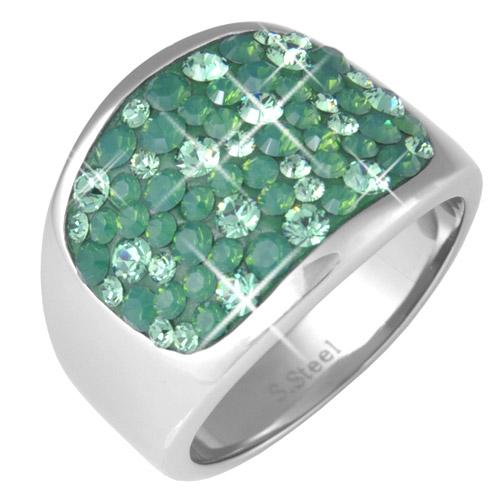 Prsten s krystaly Swarovski RSSW10-ERI