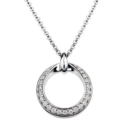 Stříbrný náhrdelník Présence S10-922-45