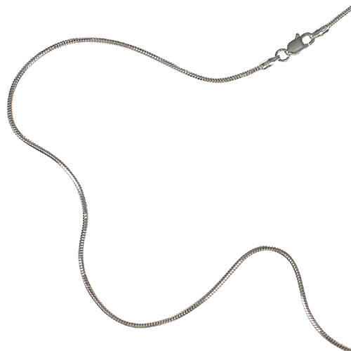 Stříbrný řetízek Diamond Snake