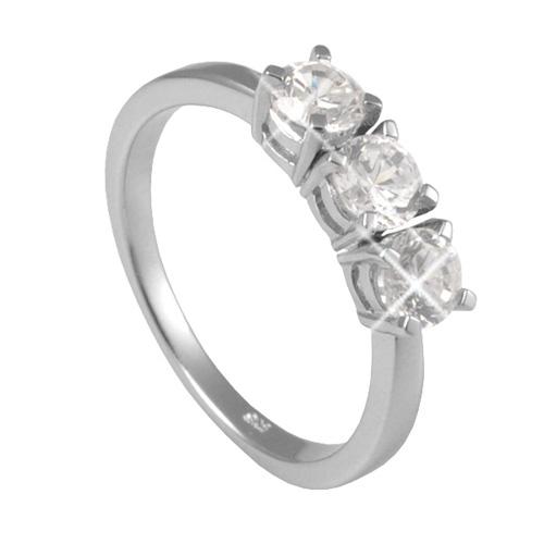 Stříbrný prsten Chiara Circle SAEU0-R1