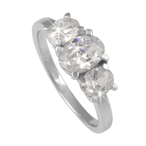 Stříbrný prsten Chiara Symbols SAEV0-R2