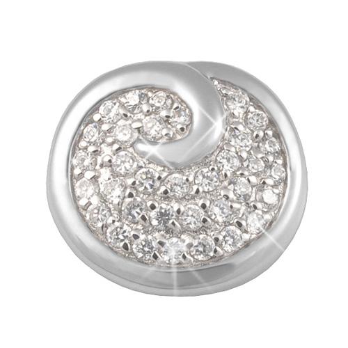 Stříbrný přívěsek Chiara Circle SCDK1-N15