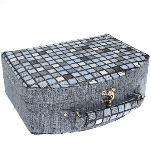 Šperkovnice JKBox Cube Blue SP290-A13 - II.jakost