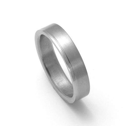 Pánský titanový snubní prsten TTN0301
