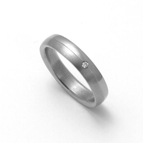 Dámský titanový snubní prsten TTN0402