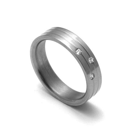 Dámský titanový snubní prsten TTN0502