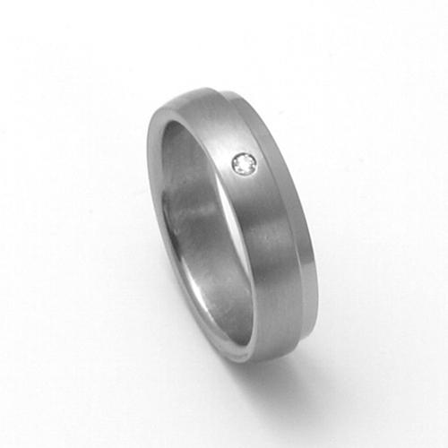 Dámský titanový snubní prsten TTN0803