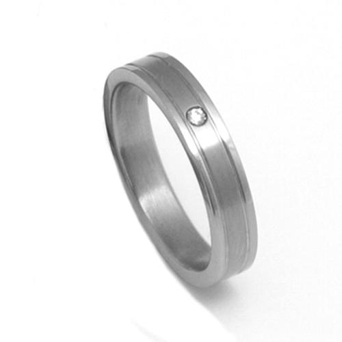 Dámský titanový snubní prsten TTN0902