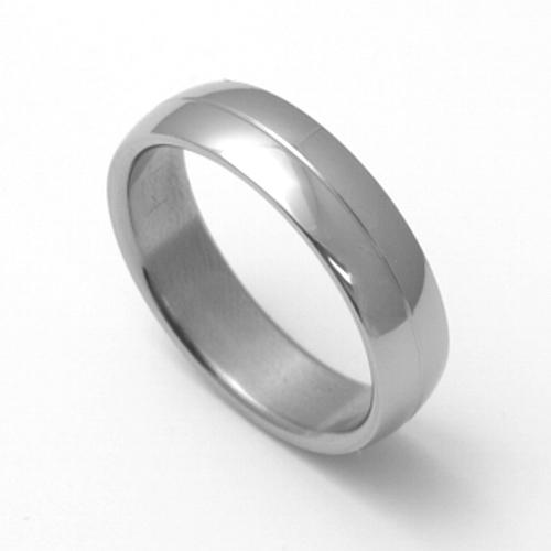 Pánský titanový snubní prsten TTN1901