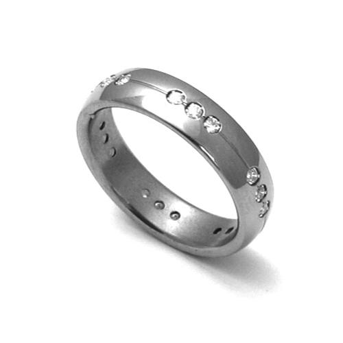 Dámský titanový snubní prsten TTN2602