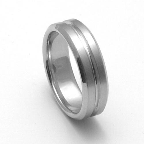 Pánský titanový snubní prsten TTN3101