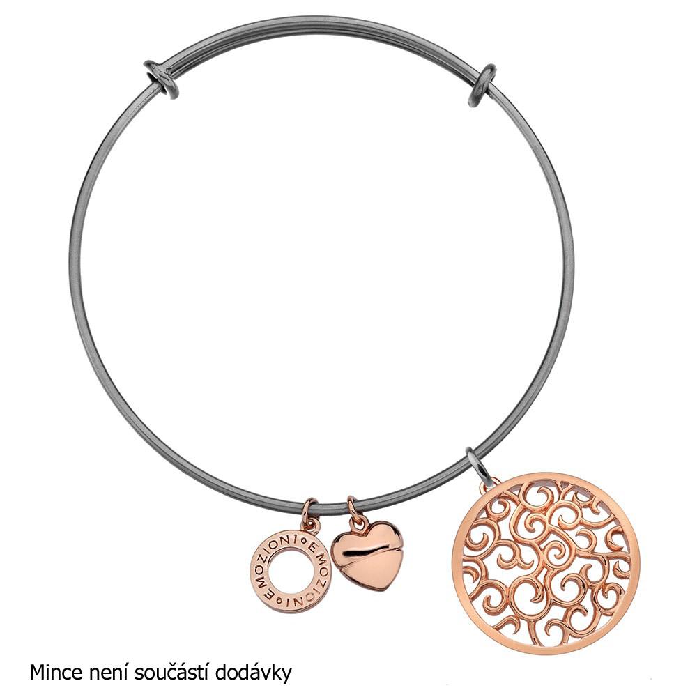 Obrázek č. 4 k produktu: Ocelový náramek Hot Diamonds Emozioni Rose Gold Bangle