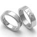 Obrázek č. 2 k produktu: Dámský ocelový snubní prsten RZ05011