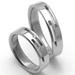 Obrázek č. 2 k produktu: Pánský ocelový snubní prsten RZ85015