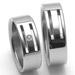 Obrázek č. 2 k produktu: Dámský ocelový snubní prsten RZ06104